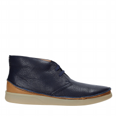 Clarks - OAKLAND RISE NAVY LEATHER