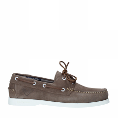 Docksteps - PRO-SAILING LOW M 002 SUEDE TAUPE