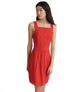 Superdry - BLAIRE BRODERIE DRESS OMG