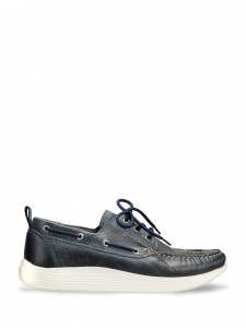 Docksteps - INDEPENDENT 1009 M LOW LEATHER NAVY