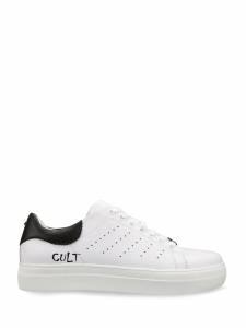 Cult - LEMMY 3291 LOW M LEATHER WHITE/BLAC