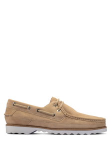 Clarks - DURLEIGH SAIL TAUPE SUEDE