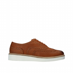 Clarks - BAILLE BROGUE TAN LEATHER