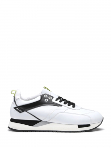 Alberto guardiani - RUNNER 015 LOW M LEATHER WHITE